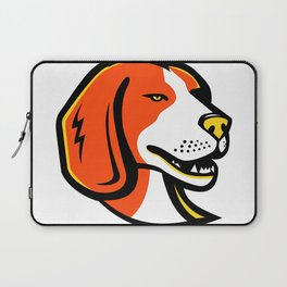 Beagle Hound Dog Mascot Laptop Sleeve