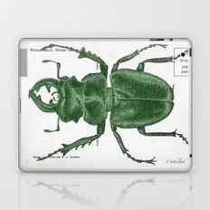 Green Beetle Postcard Laptop & iPad Skin