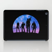 guardians of the galaxy iPad Cases featuring Guardians of the Galaxy - Color by Comix