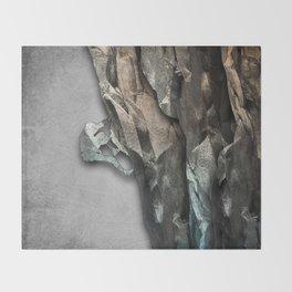 The Climber Throw Blanket