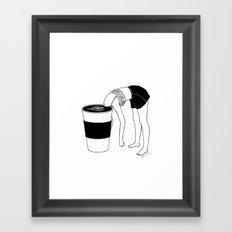 Coffee, First Framed Art Print
