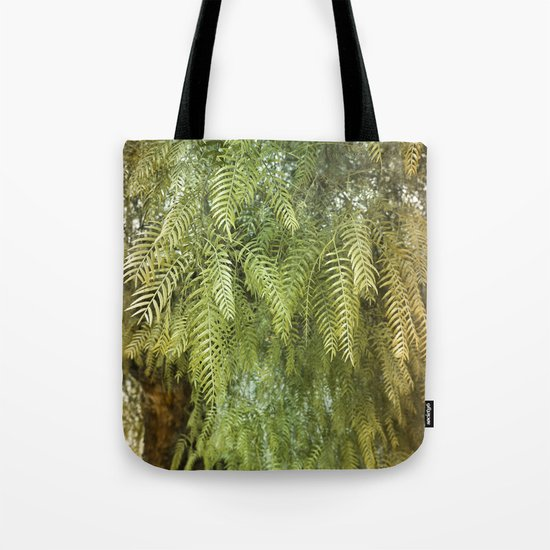 Green Tree. Vegetal Photography Tote Bag