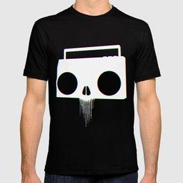 Boombox Skull (RGB) T-shirt
