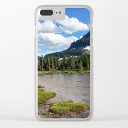 Mountain Bliss in Summer Clear iPhone Case