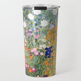 The Garden by Gustav Klimt Travel Mug