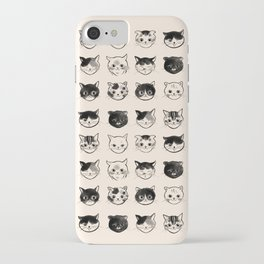Cats Hair Styles iPhone Case