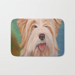 Terrier Portrait Bath Mat