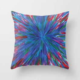 Emotion of Emotions Throw Pillow