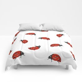 Ladybug Pattern Comforters