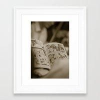 manga Framed Art Prints featuring manga by gorkarcophoto