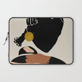 Black Hair No. 12 Laptop Sleeve