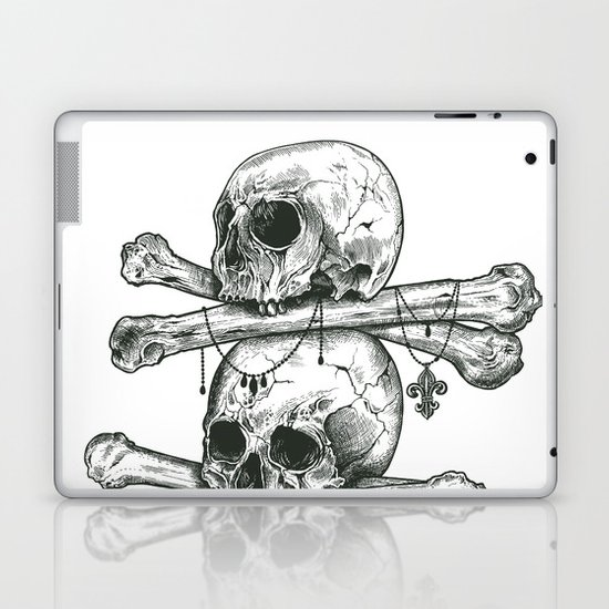 Skull Totem Laptop & iPad Skin