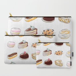 Watercolor Desserts pattern Carry-All Pouch