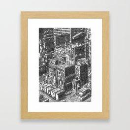 City Landscape Framed Art Print