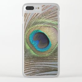 Peacock Feather No.1 | Feathers | Nadia Bonello | Ottawa | Canada Clear iPhone Case