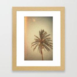 minha terra tem coqueiros Framed Art Print