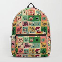 Vintage my Alphabet Backpack