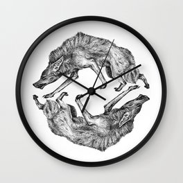 Wild Hair Wall Clock