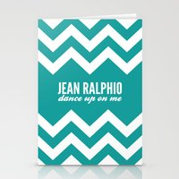 parks and recreation Stationery Cards featuring Jean Ralphio - Parks and Recreation by Sandra Amstutz