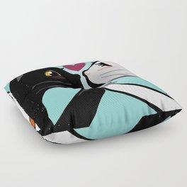 Love you cats Floor Pillow