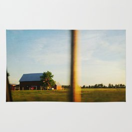 Midwest Red Barn Rug