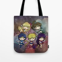 sailor moon Tote Bags featuring Sailor moon by Madoso