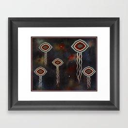 Benevolent Ones Framed Art Print