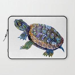 Slider Baby Turtle artwork Laptop Sleeve