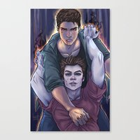 daunt Canvas Prints featuring Possessed and Possession by Daunt