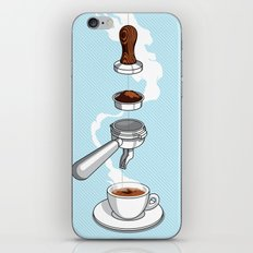 4 reasons why coffee is awesome iPhone & iPod Skin