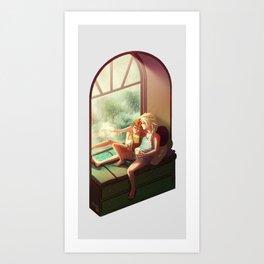 Summer Love vrs. 2 - Olaf Art Print