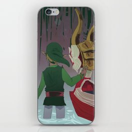 mother and child islands iPhone Skin