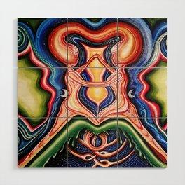 Solstice Souls Wood Wall Art