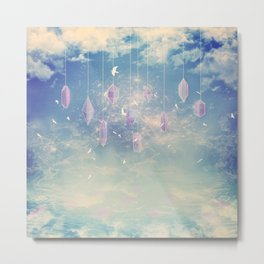 Crystals in the sky Metal Print