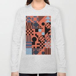 RAND PATTERNS #49: Procedural Art Long Sleeve T-shirt