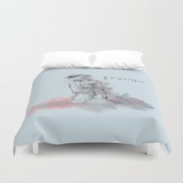 Don't Wanna Cry Duvet Cover