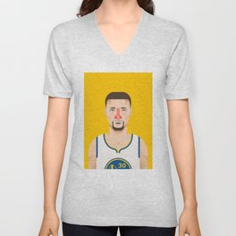 The Artistry of Curry Unisex V-Neck