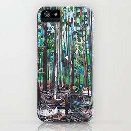 Galiano Forest Floor (2012) iPhone Case