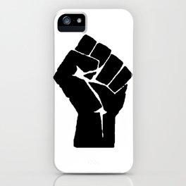 BLM Fist iPhone Case