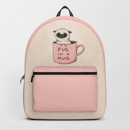 Pug in a Mug Backpack