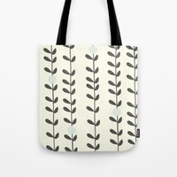 calendars Tote Bags featuring Leaf by Shabby Studios Design & Illustrations ..