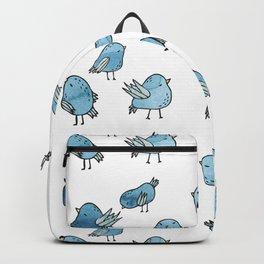 Flock of Birds - Blue Backpack