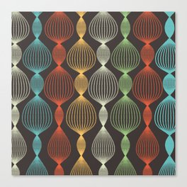 Geo Bulbs Canvas Print
