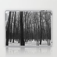 Trees in the forest Laptop & iPad Skin