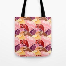 Beaky Birds Tote Bag