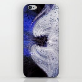Twirls in Universum iPhone Skin