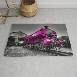 The Pink Pannier Rug