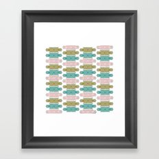 art deco pattern #2 Framed Art Print