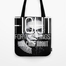 Ruth Bader Gingsburg Tote Bag