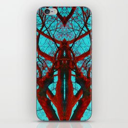 Can you believe what life can come from a tree? iPhone Skin